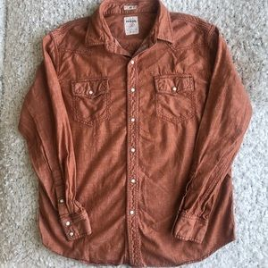 Fossil 54 Button Down Long Sleeved Shirt
